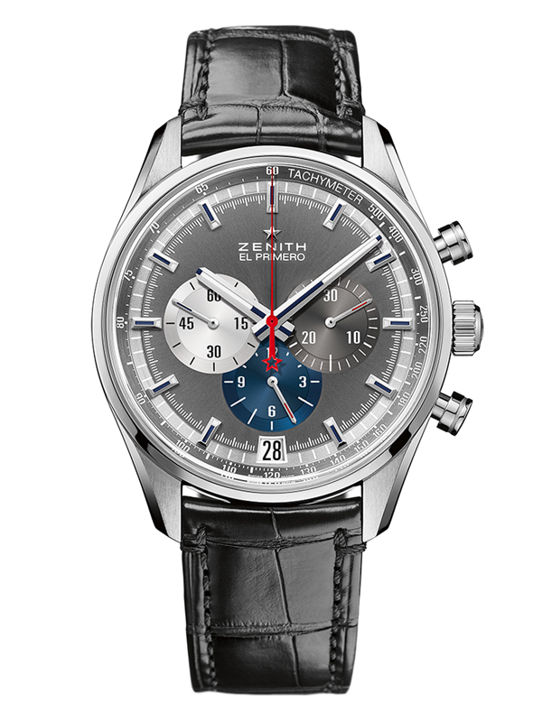 Часы 36000 VpH Chronograph Anthracite