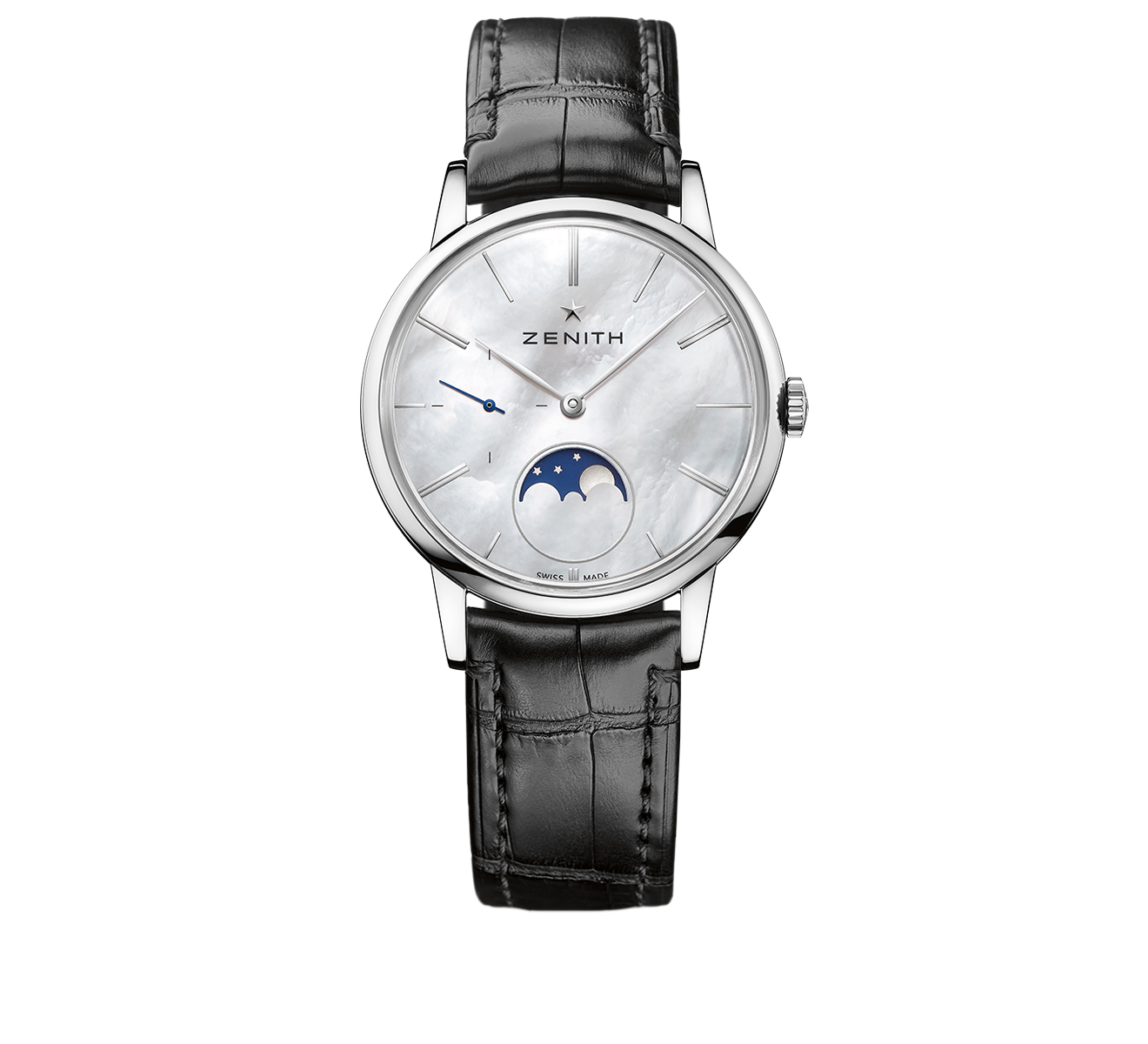 Часы Ultra Thin Lady Moonphase ZENITH Elite 03.2320.692/80.C - фото 1 – Mercury