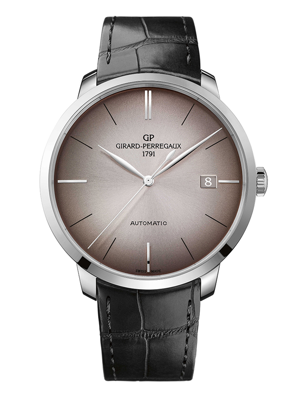 Часы White Gold Date Brown