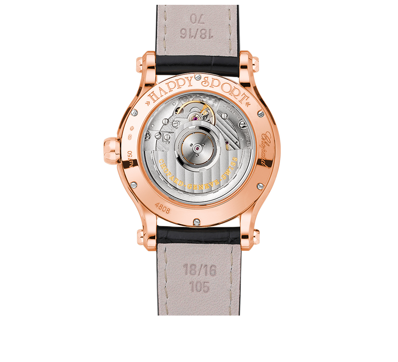 Часы Happy Sport Automatic Chopard Happy Sport 274808-5008 - фото 2 – Mercury