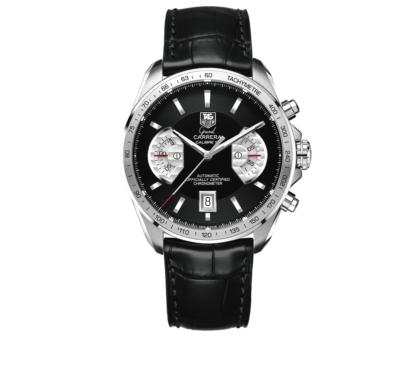 Часы Calibre 17 TAG Heuer Grand Carrera CAV511A.FC6225 - фото 1 – Mercury