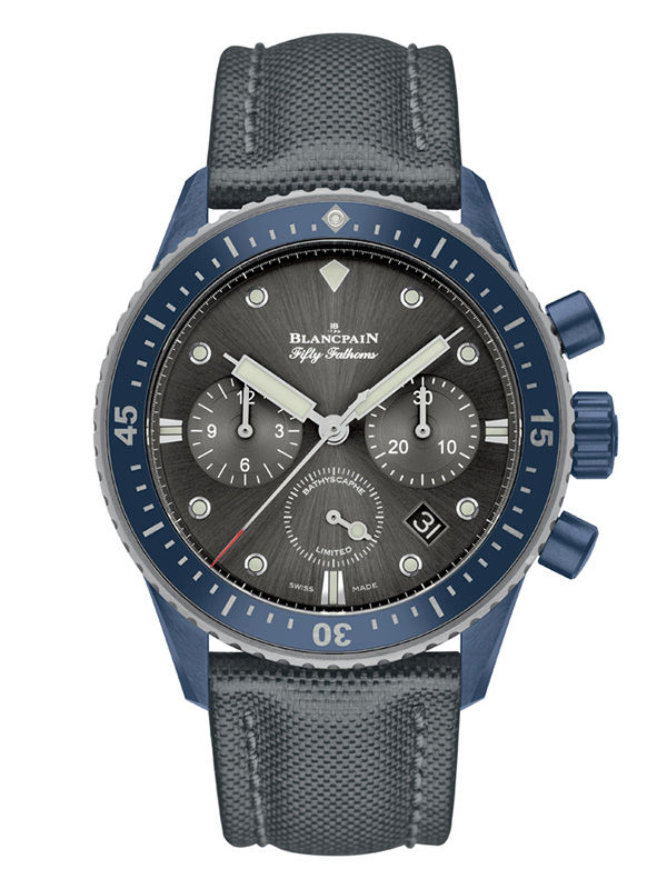 Часы Bathyscaphe Chronographe Flyback Ocean Commitment