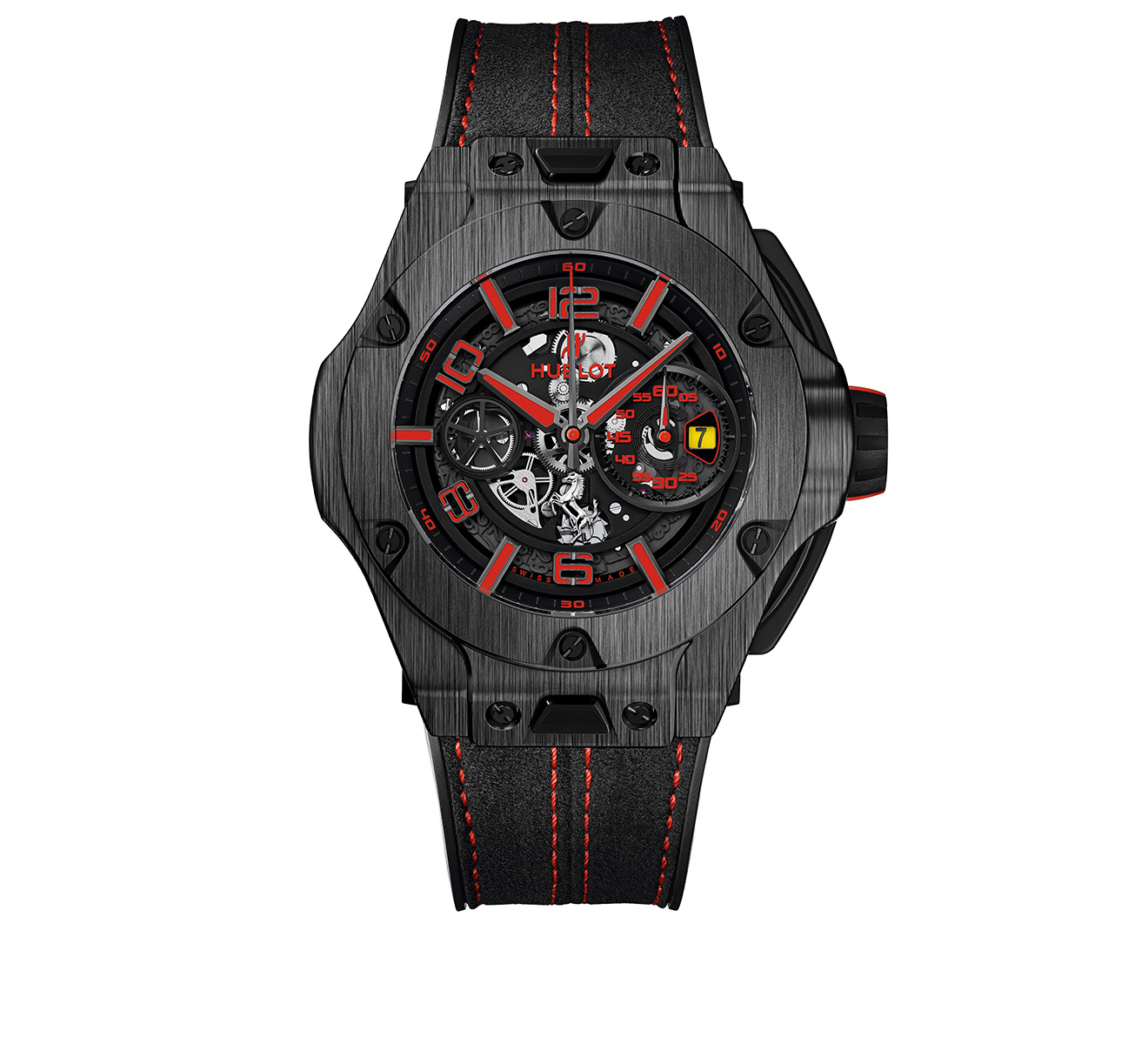 Часы Ferrari Carbon HUBLOT Big Bang 402.QU.0113.WR - фото 1 – Mercury
