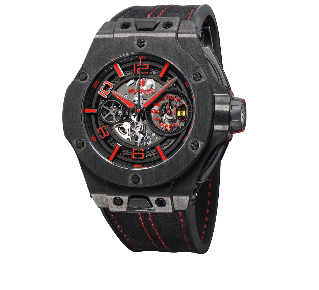 Часы Ferrari Carbon HUBLOT Big Bang 402.QU.0113.WR - фото 2 – Mercury
