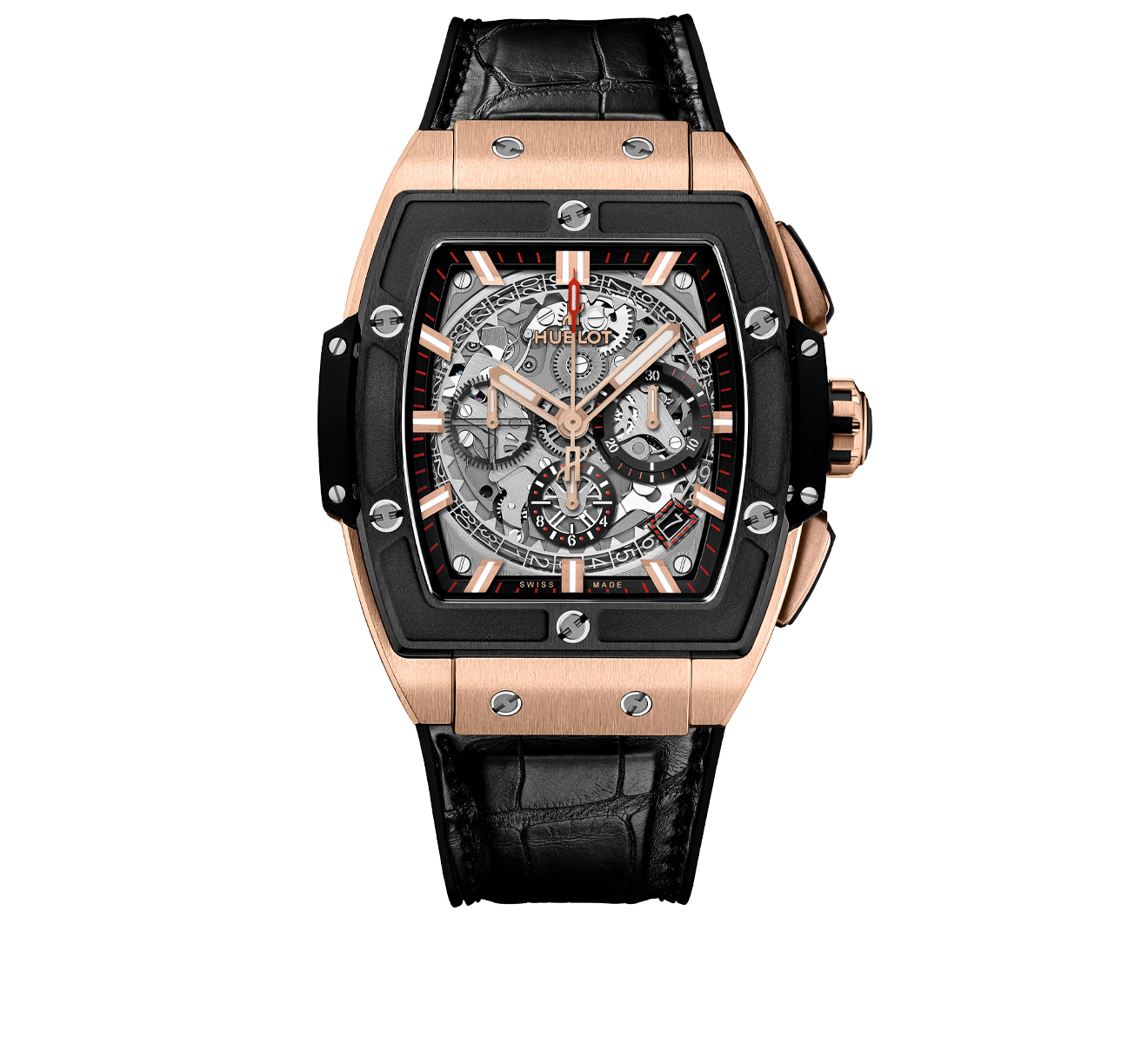 Часы King Gold Ceramic HUBLOT Spirit of Big Bang 641.OM.0183.LR - фото 1 – Mercury