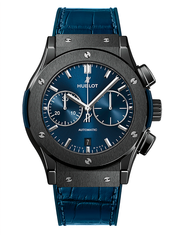 Часы Ceramic Blue Chronograph