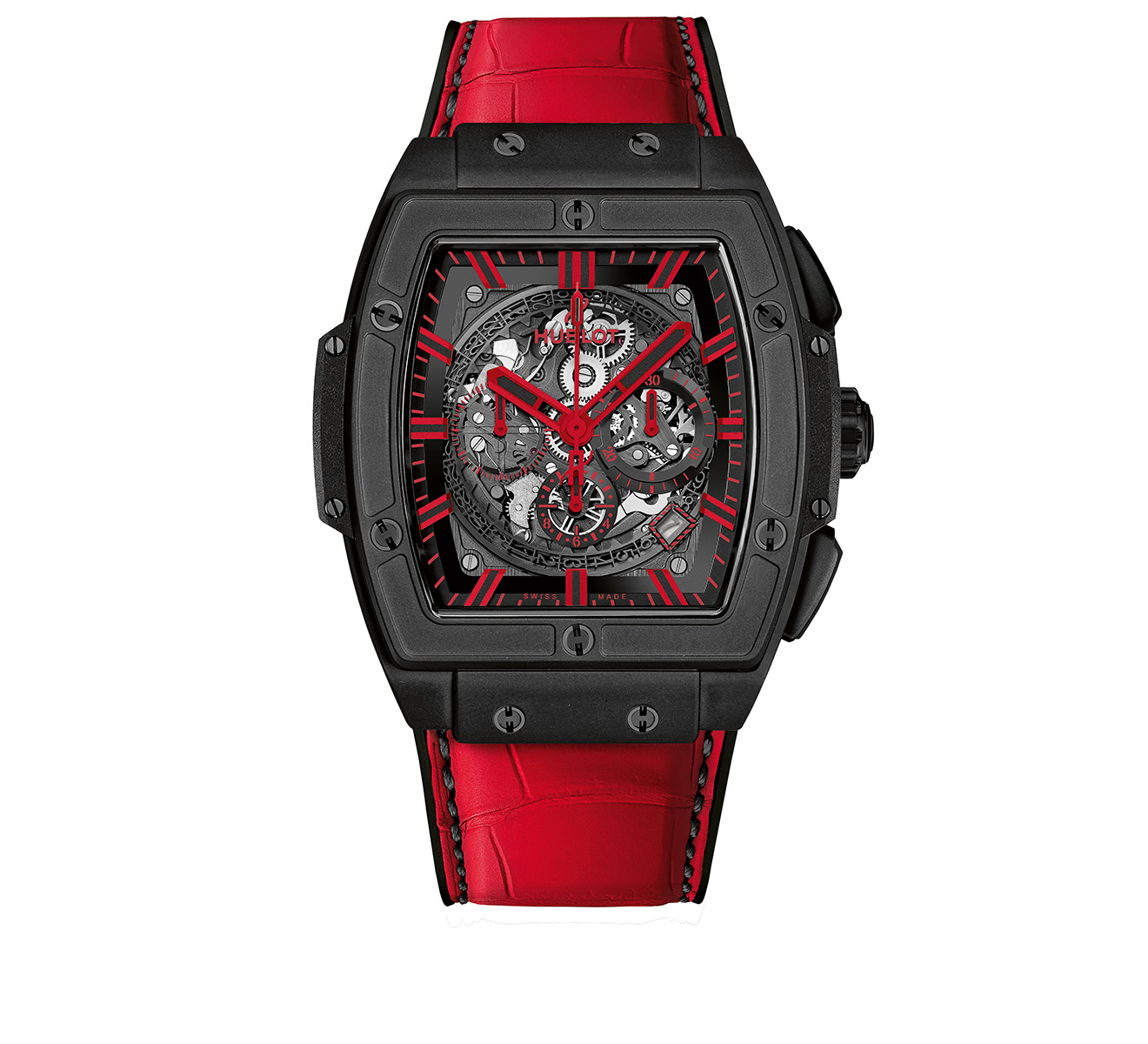 Часы All Black Red HUBLOT Spirit of Big Bang 601.CR.0130.LR - фото 1 – Mercury