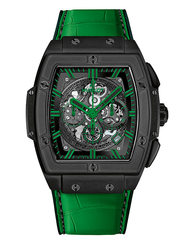 Часы All Black Green