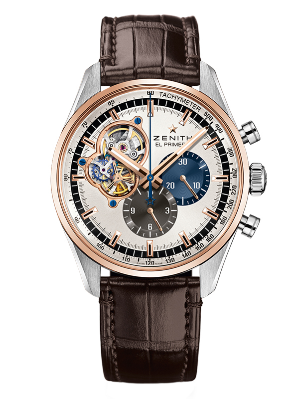 Часы 36000 VpH Steel and Rose Gold