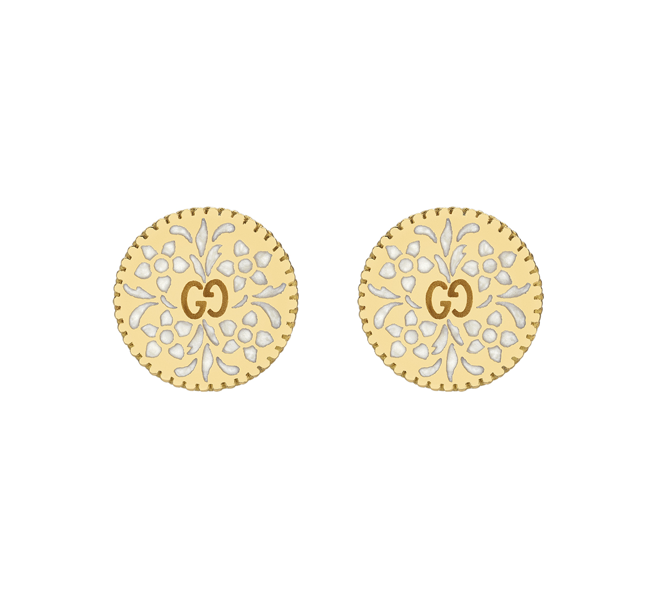 Серьги Icon Blooms Gucci Icon YBD479368001 - фото 1 – Mercury