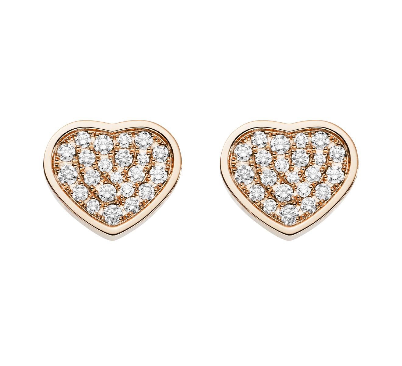 Серьги Happy Hearts Chopard Happy Diamonds 839482-5901 - фото 1 – Mercury