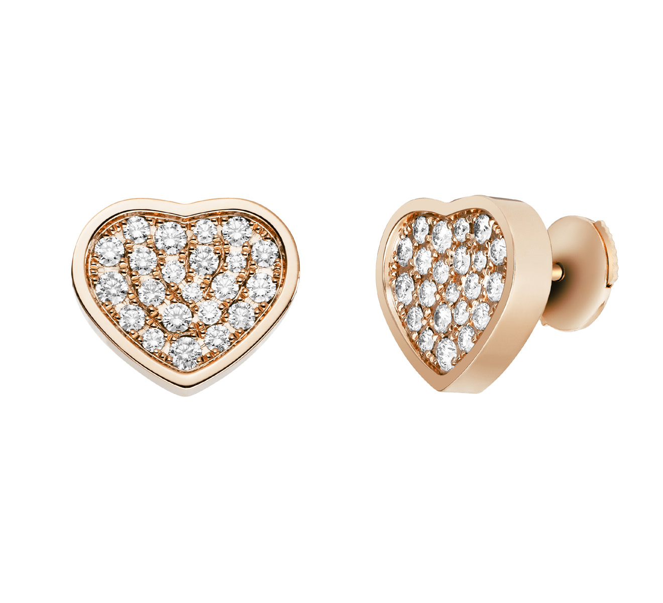 Серьги Happy Hearts Chopard Happy Diamonds 839482-5901 - фото 2 – Mercury