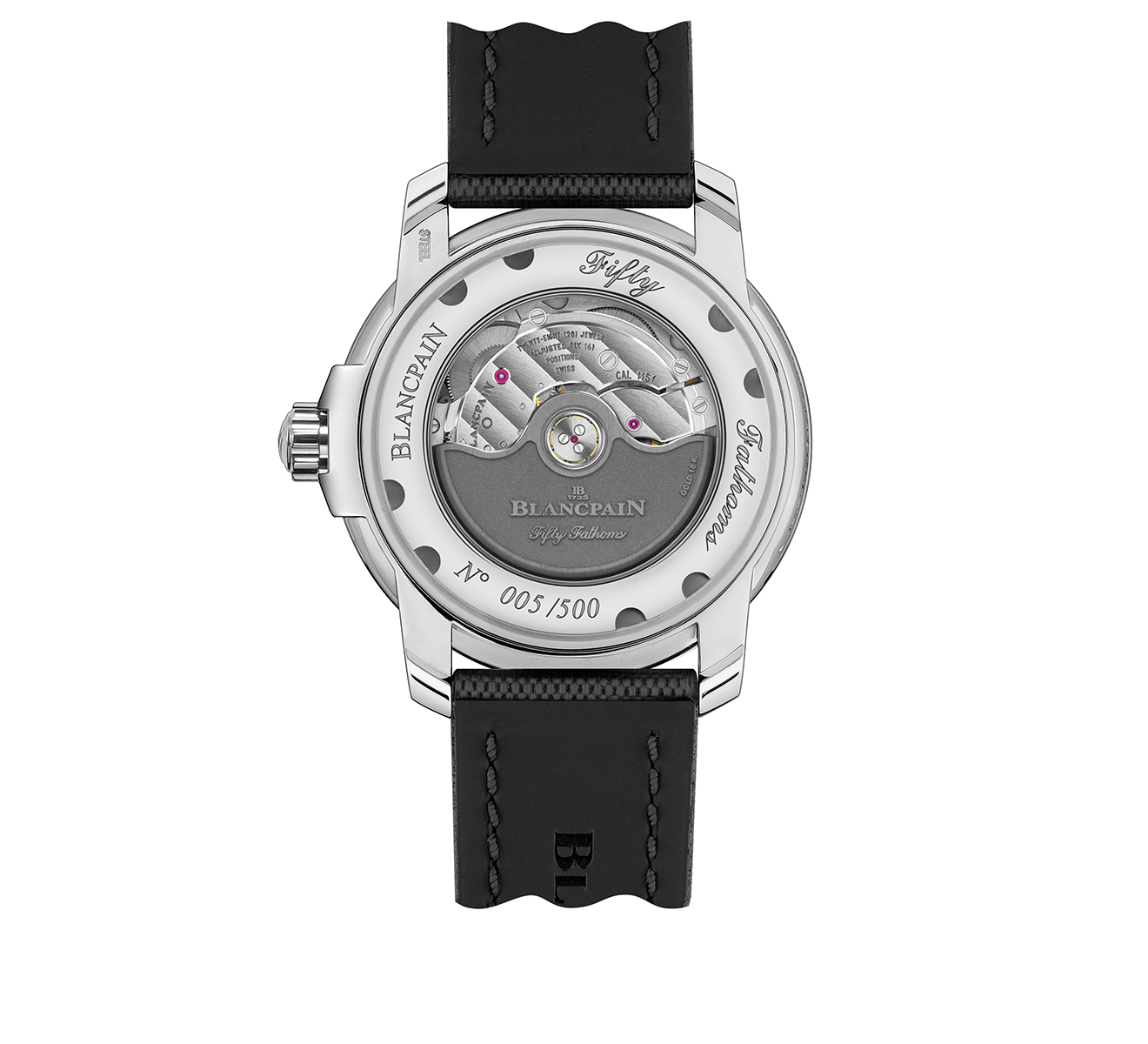 Часы Automatique Blancpain Fifty Fathoms 5008 1130 B52A - фото 2 – Mercury