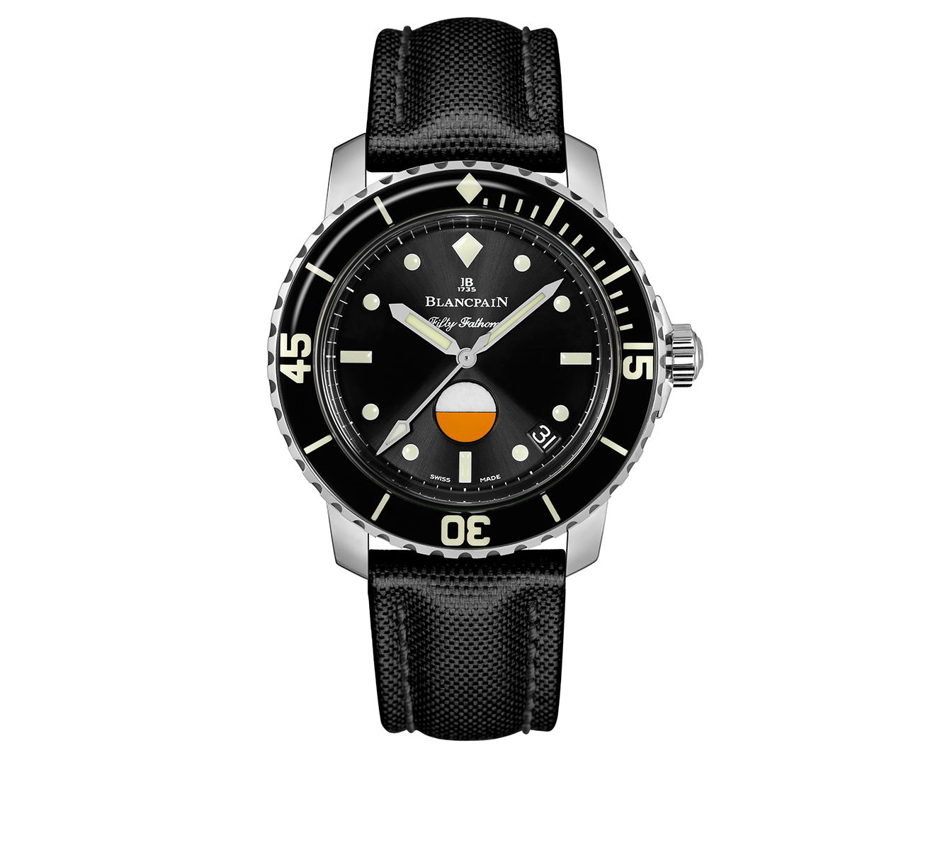 Часы Automatique Blancpain Fifty Fathoms 5008 1130 B52A - фото 1 – Mercury