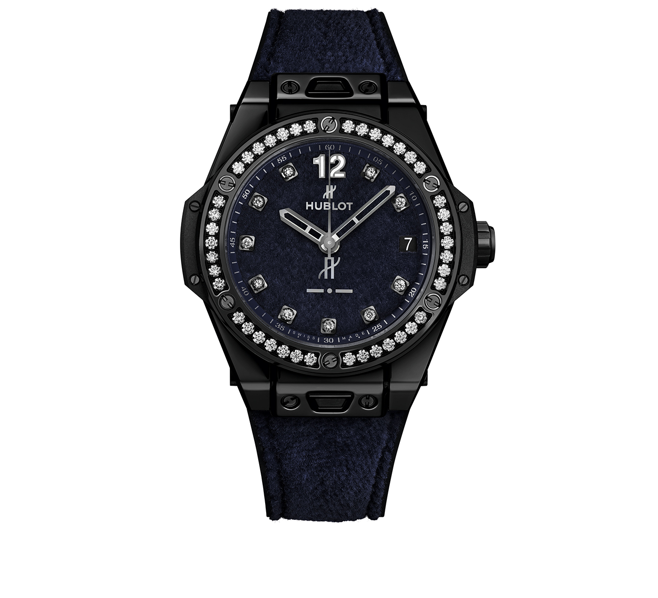 Часы One Click Italia Independent Dark Blue Velvet HUBLOT Big Bang 465.CS.277J.NR.1204.ITI17 - фото 1 – Mercury