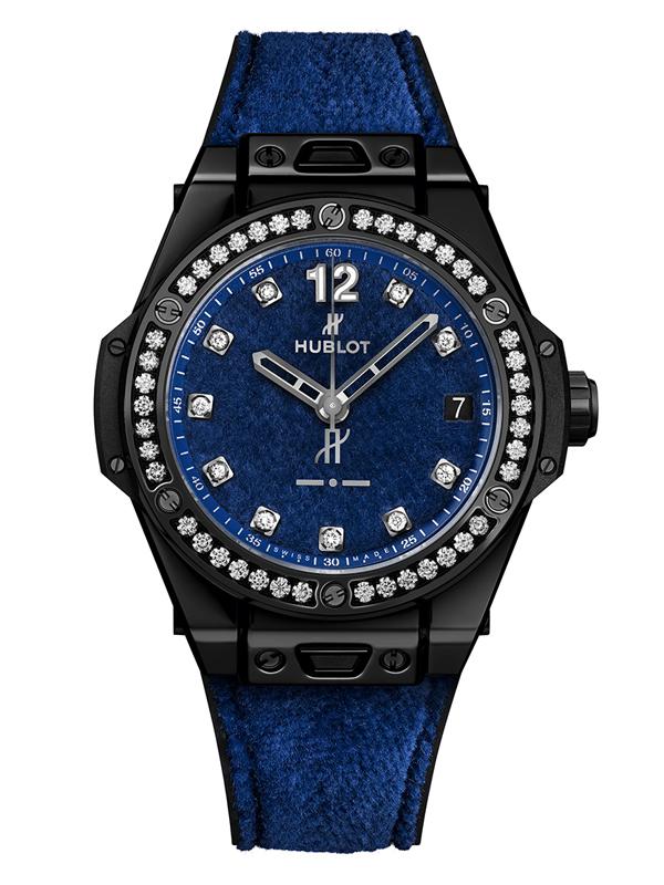 Часы hublot синие