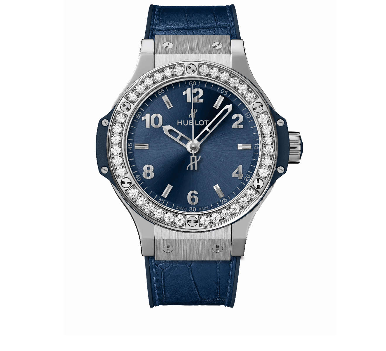 Часы Steel Blue Diamonds HUBLOT Big Bang 361.SX.7170.LR.1204 - фото 1 – Mercury