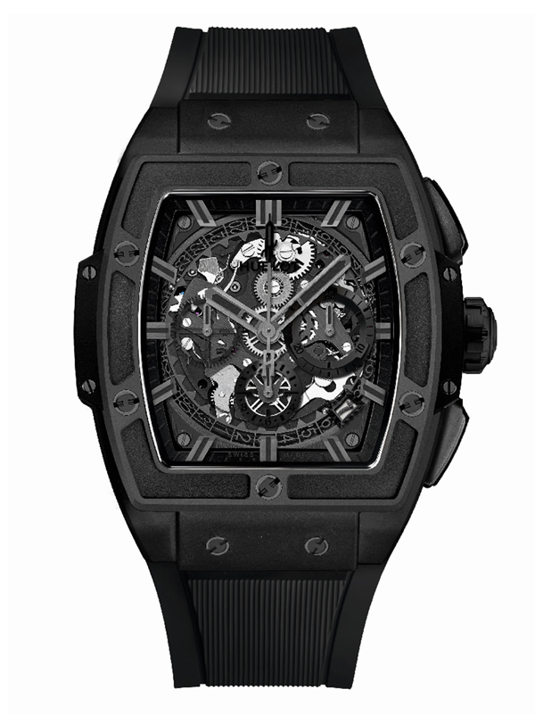 Часы Ceramic Chronograph Black