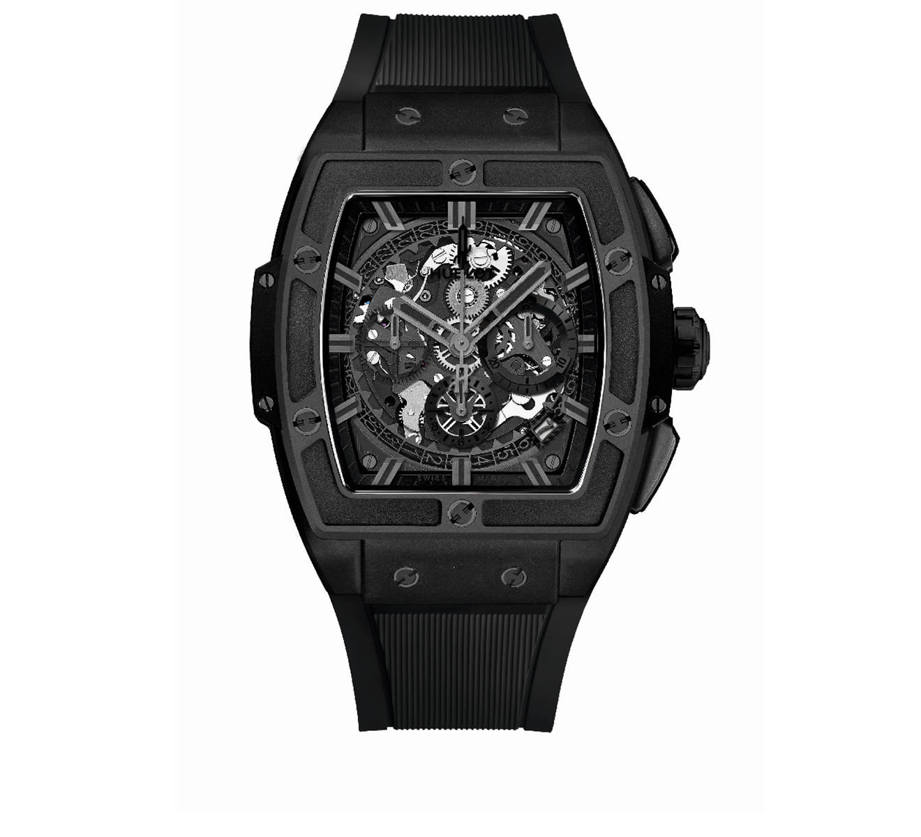 Часы Ceramic Chronograph Black HUBLOT Spirit of Big Bang 641.CI.0110.RX - фото 1 – Mercury