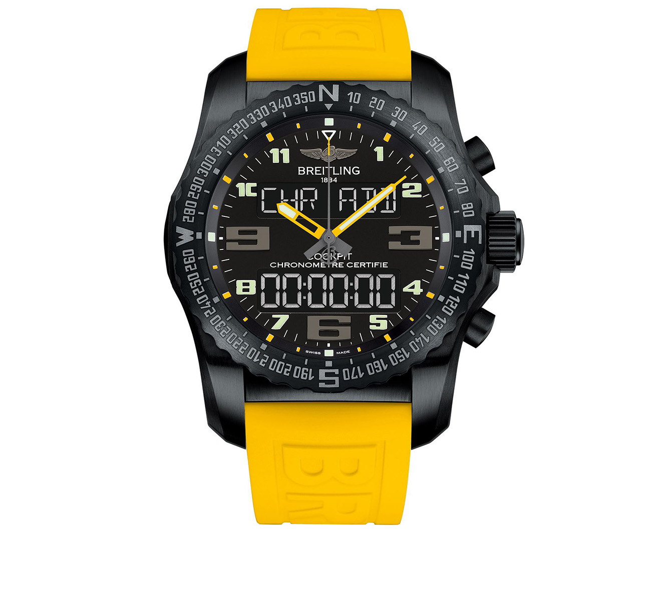 Часы Cockpit B50 Night Mission Breitling Professional VB5010A4/BD41/242S - фото 1 – Mercury