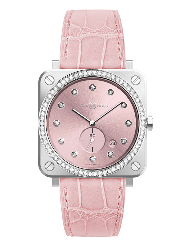 Часы Steel Small Seconds Pink Watch