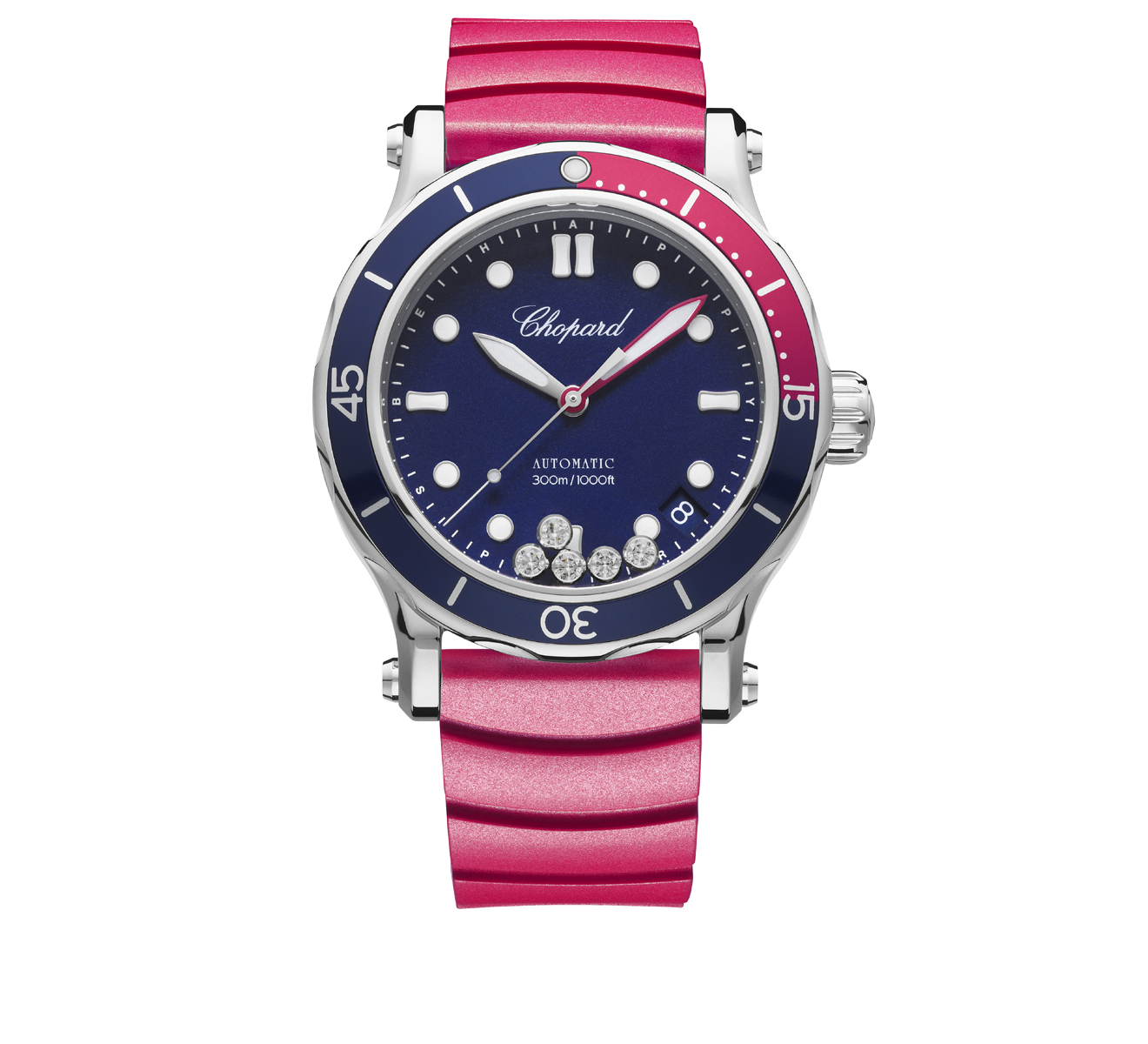 Часы Happy Ocean Chopard Happy Sport 278587-3002 - фото 1 – Mercury