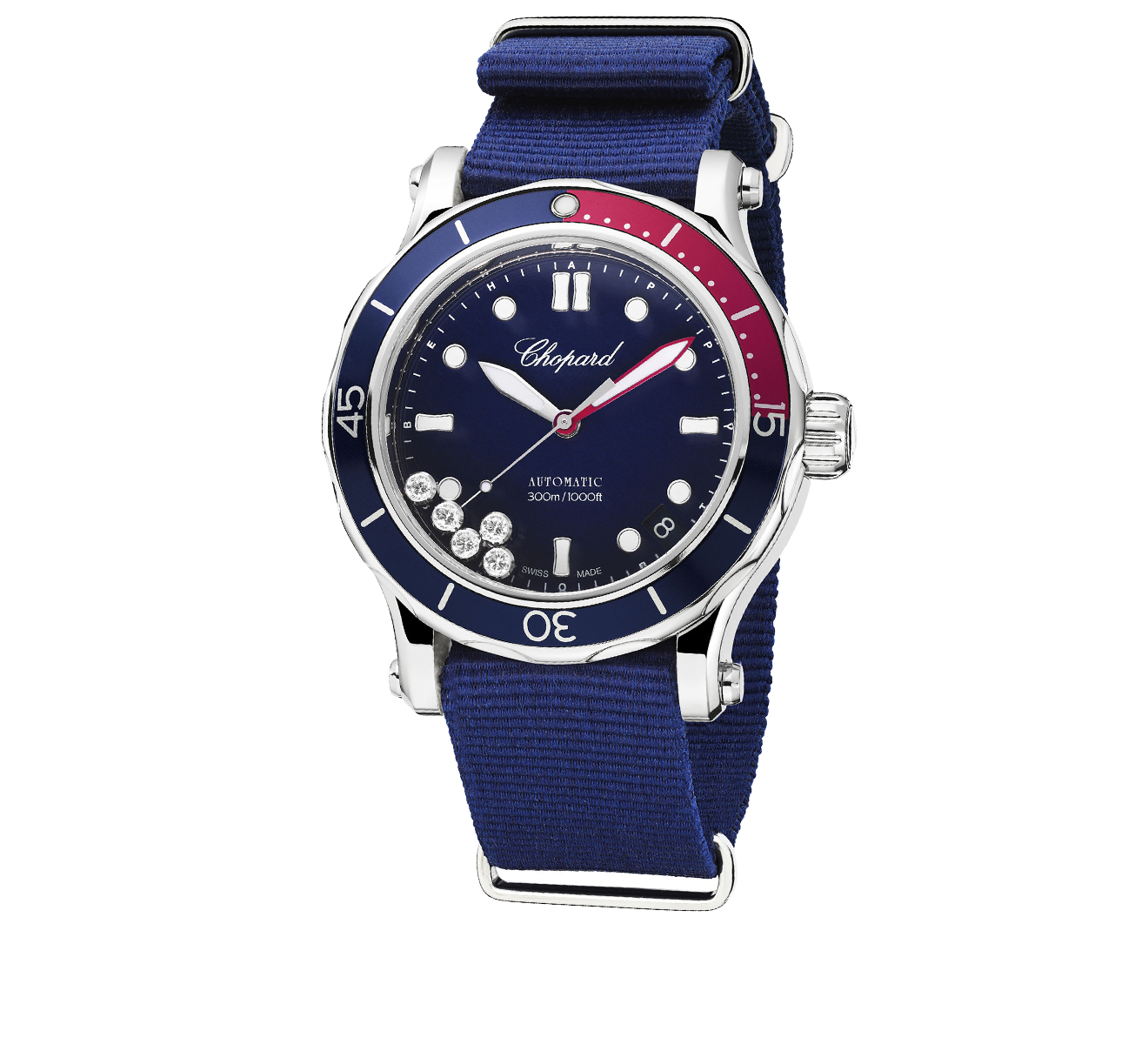 Часы Happy Ocean Chopard Happy Sport 278587-3002 - фото 2 – Mercury