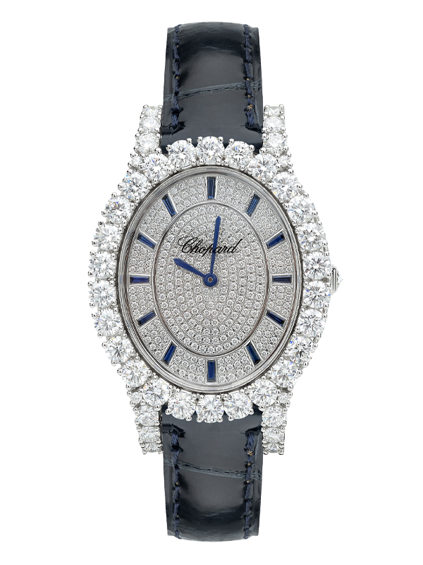 Часы White Gold Pave Blue