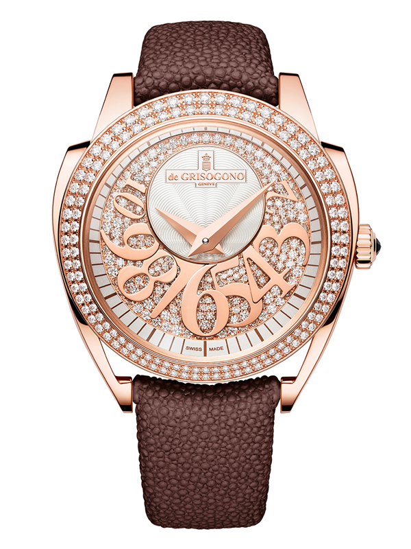 Часы Rose Gold Diamond
