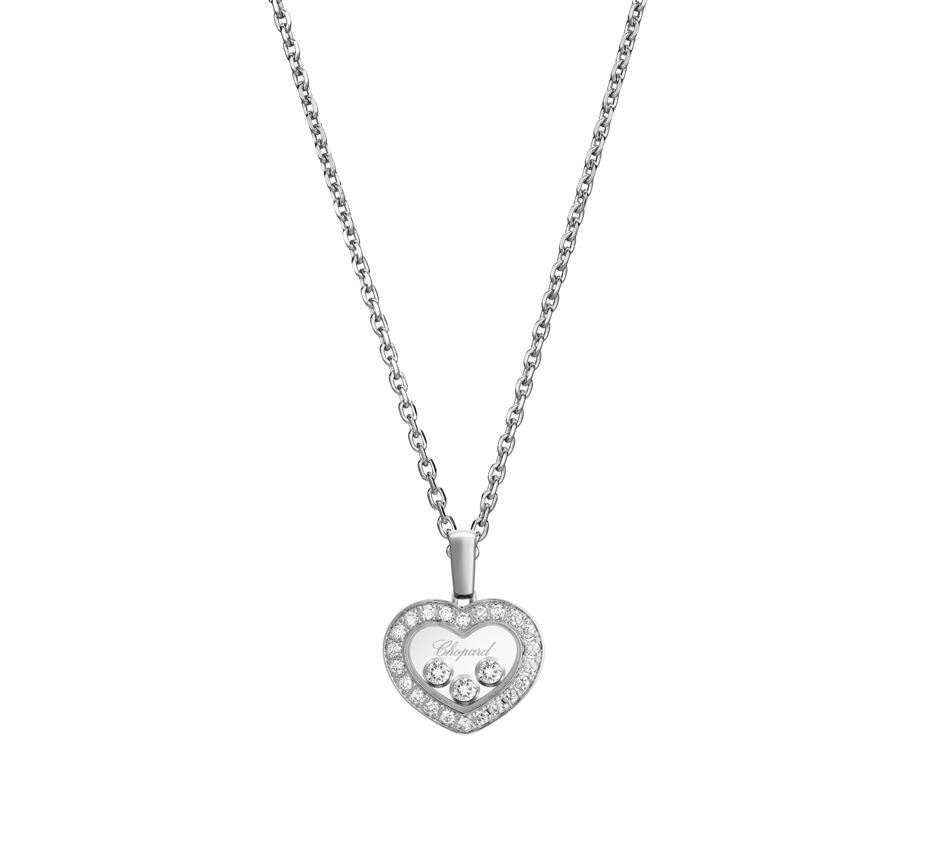 Кулон Icons Heart Chopard Happy Diamonds 79A611-1201 - фото 1 – Mercury