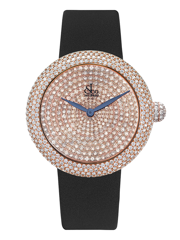 Часы Rose Gold Pave