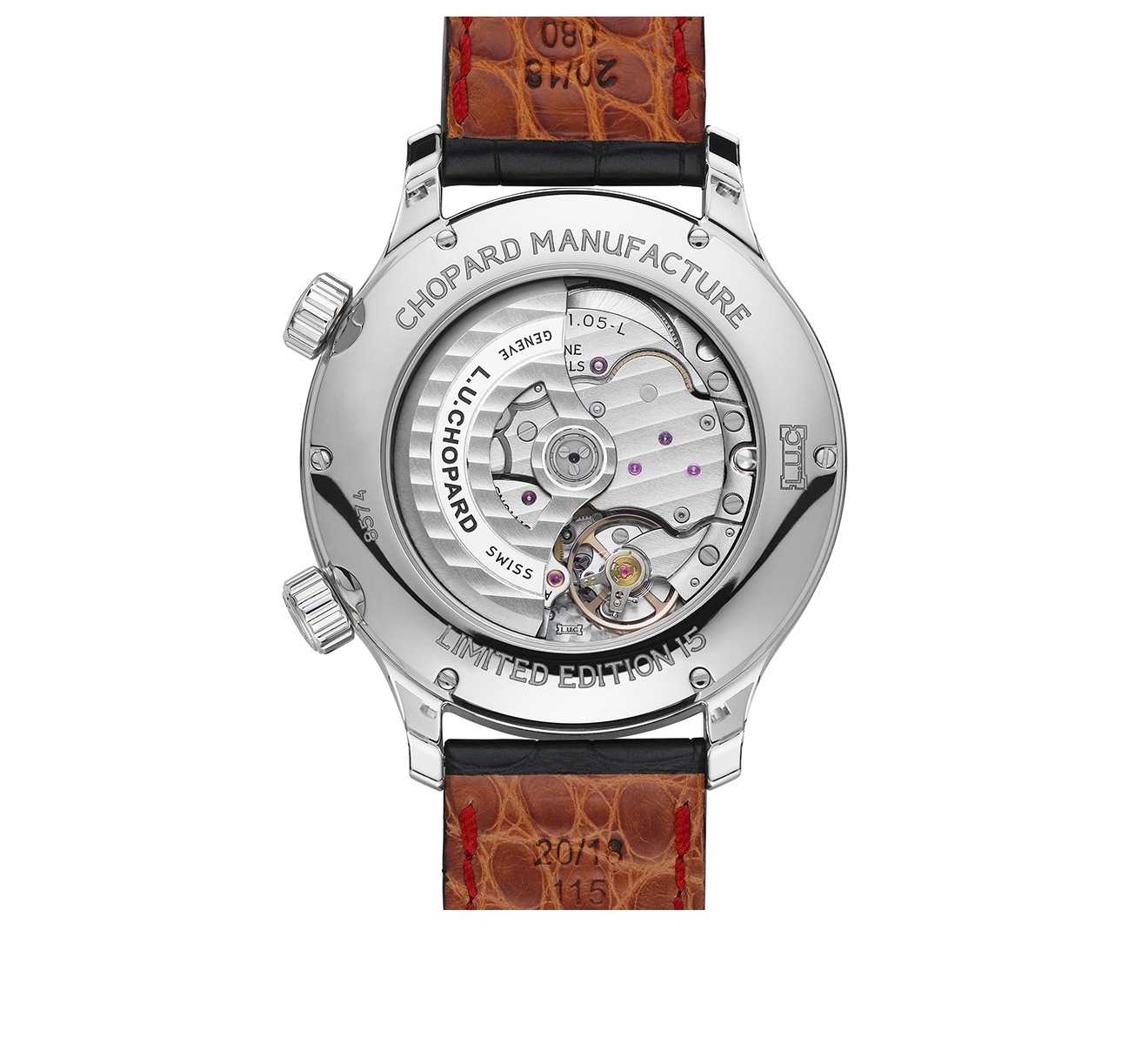 Часы Time Traveler Steel Chopard L.U.C Complications 168574-3002 - фото 2 – Mercury