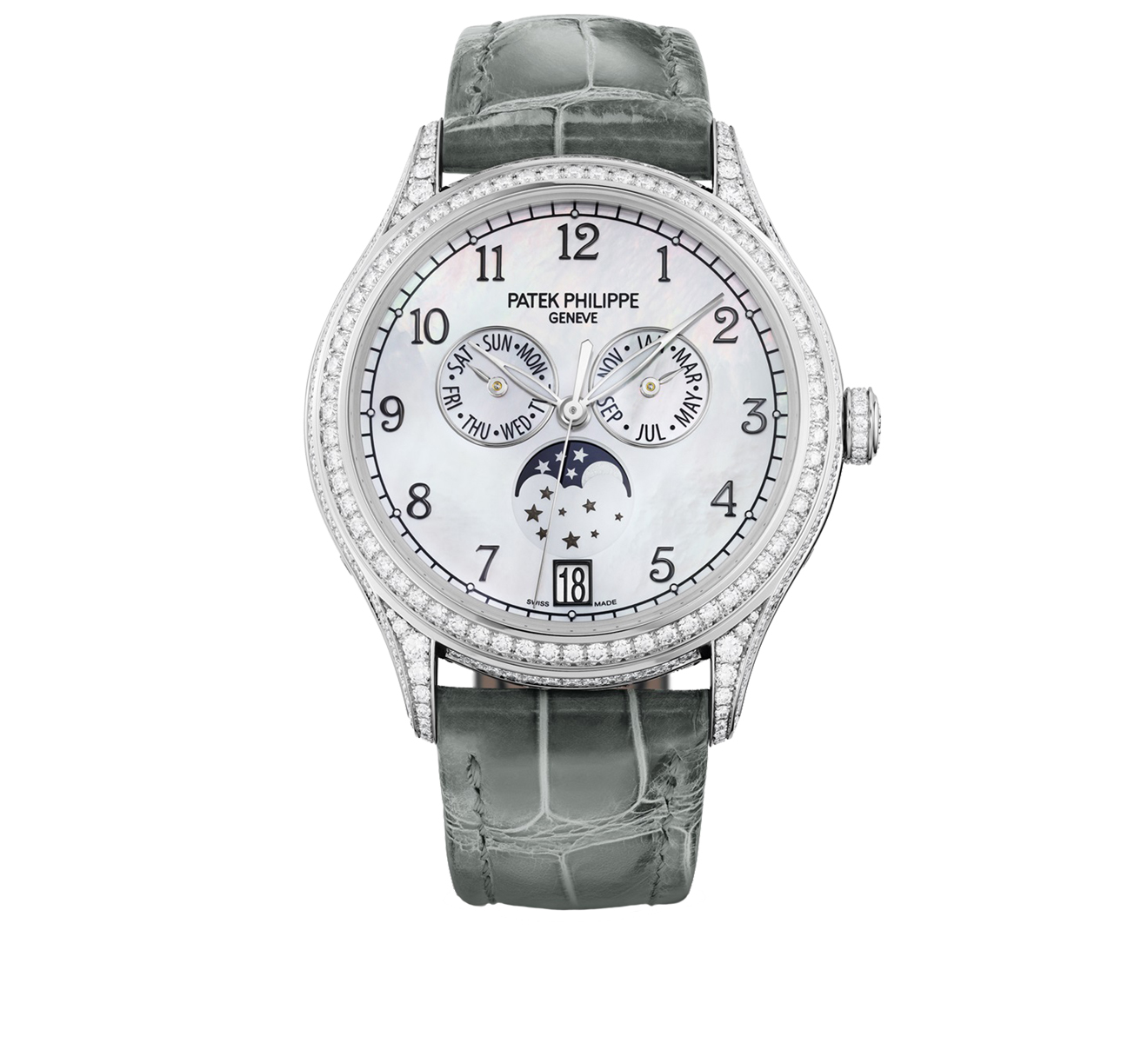 Часы Annual Calendar PATEK PHILIPPE Complications 4948 G-010 - фото 1 – Mercury