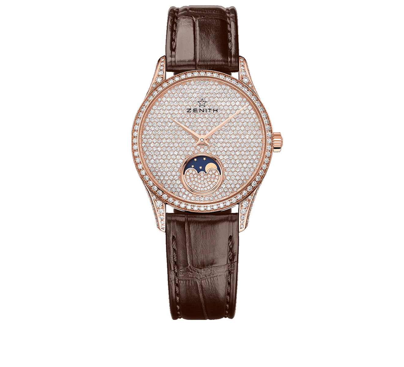 Часы Elite Lady Moonphase ZENITH Elite 22.2310.690/79.C - фото 1 – Mercury
