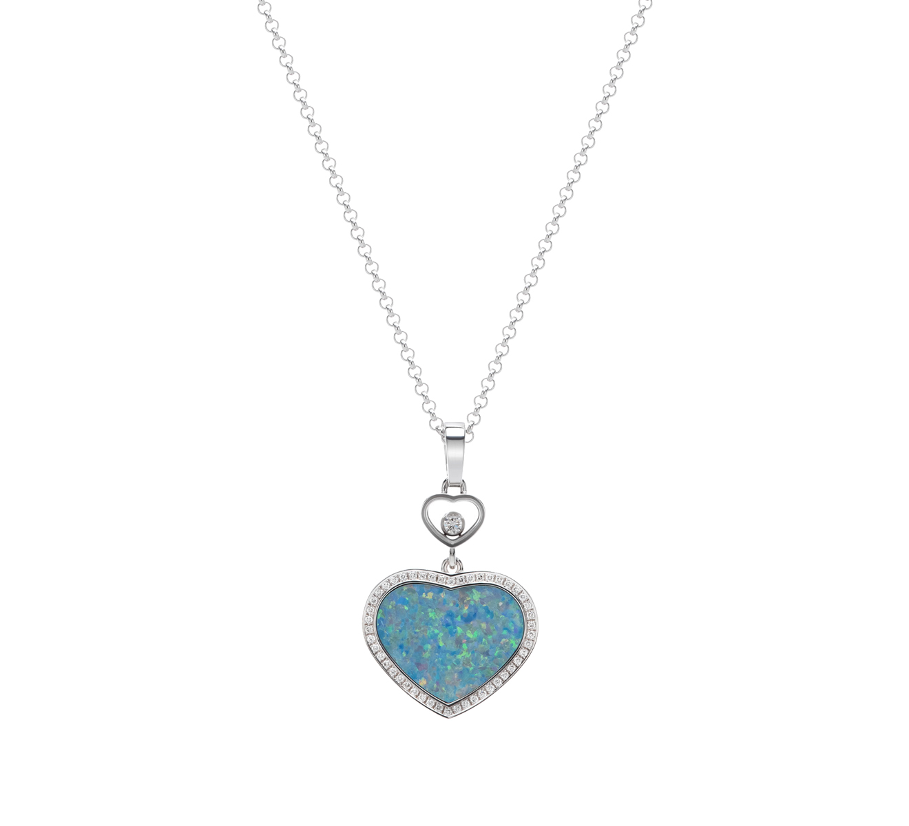 Кулон Happy Hearts Chopard Happy Diamonds 797482-1904 - фото 1 – Mercury