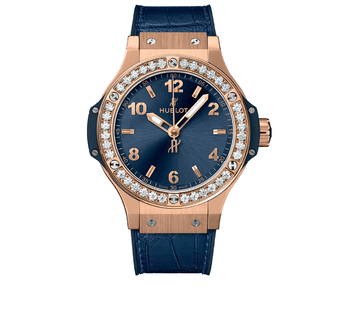 Часы Gold Blue Diamonds HUBLOT Big Bang 361.PX.7180.LR.1204 - фото 1 – Mercury
