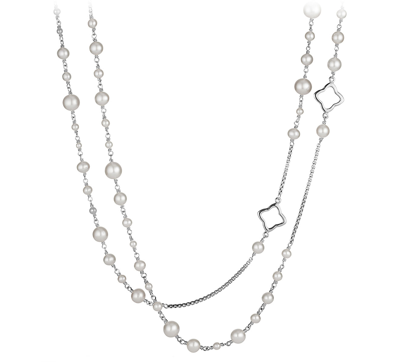 Колье DAVID YURMAN Bijoux N09410 SSBPE48 - фото 1 – Mercury