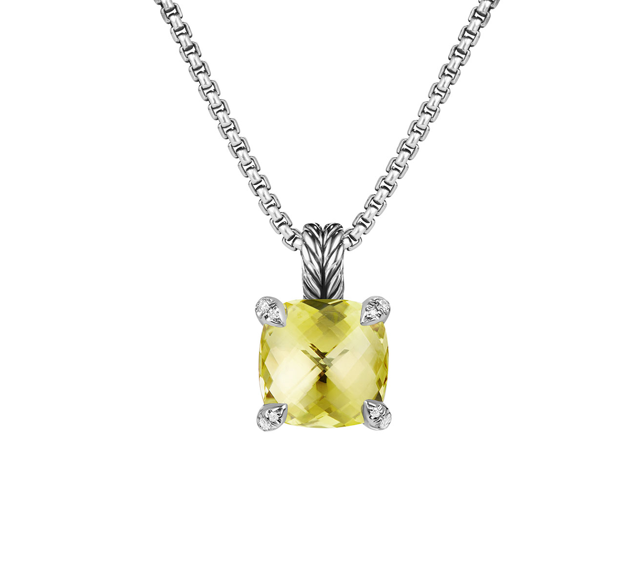 Колье DAVID YURMAN Chatelaine N12643DSSALCDI18 - фото 1 – Mercury