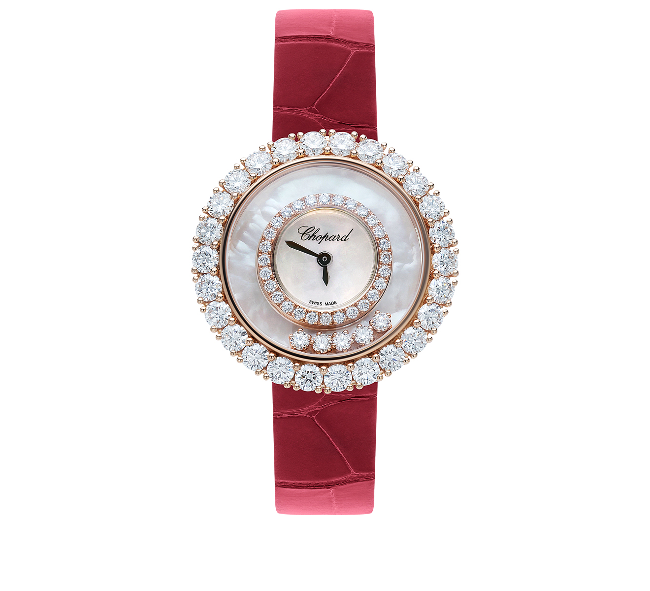 Часы Icons Round Chopard Happy Diamonds 205369-5001 - фото 1 – Mercury