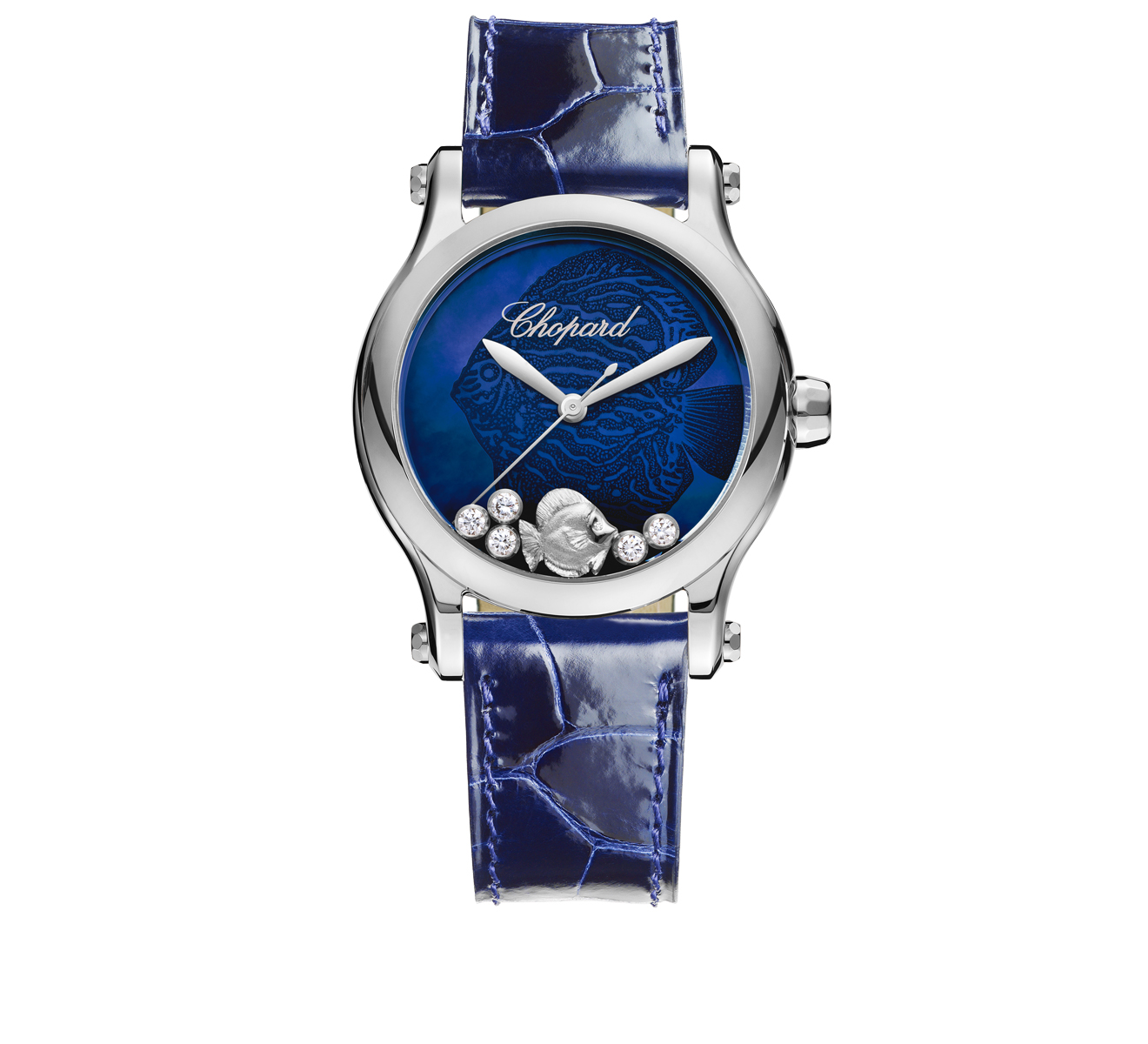 Часы Happy Fish Chopard Happy Sport 278578-3002 - фото 1 – Mercury