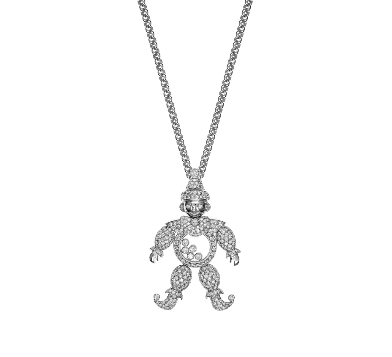 Кулон Happy Clown Chopard Happy Diamonds 792246-1001 - фото 1 – Mercury
