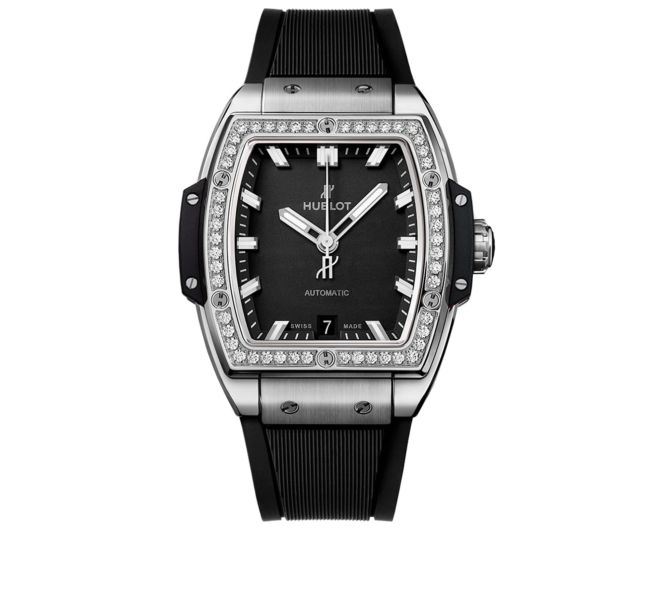 Часы Titanium Diamonds HUBLOT Big Bang 665.NX.1170.RX.1204 - фото 1 – Mercury