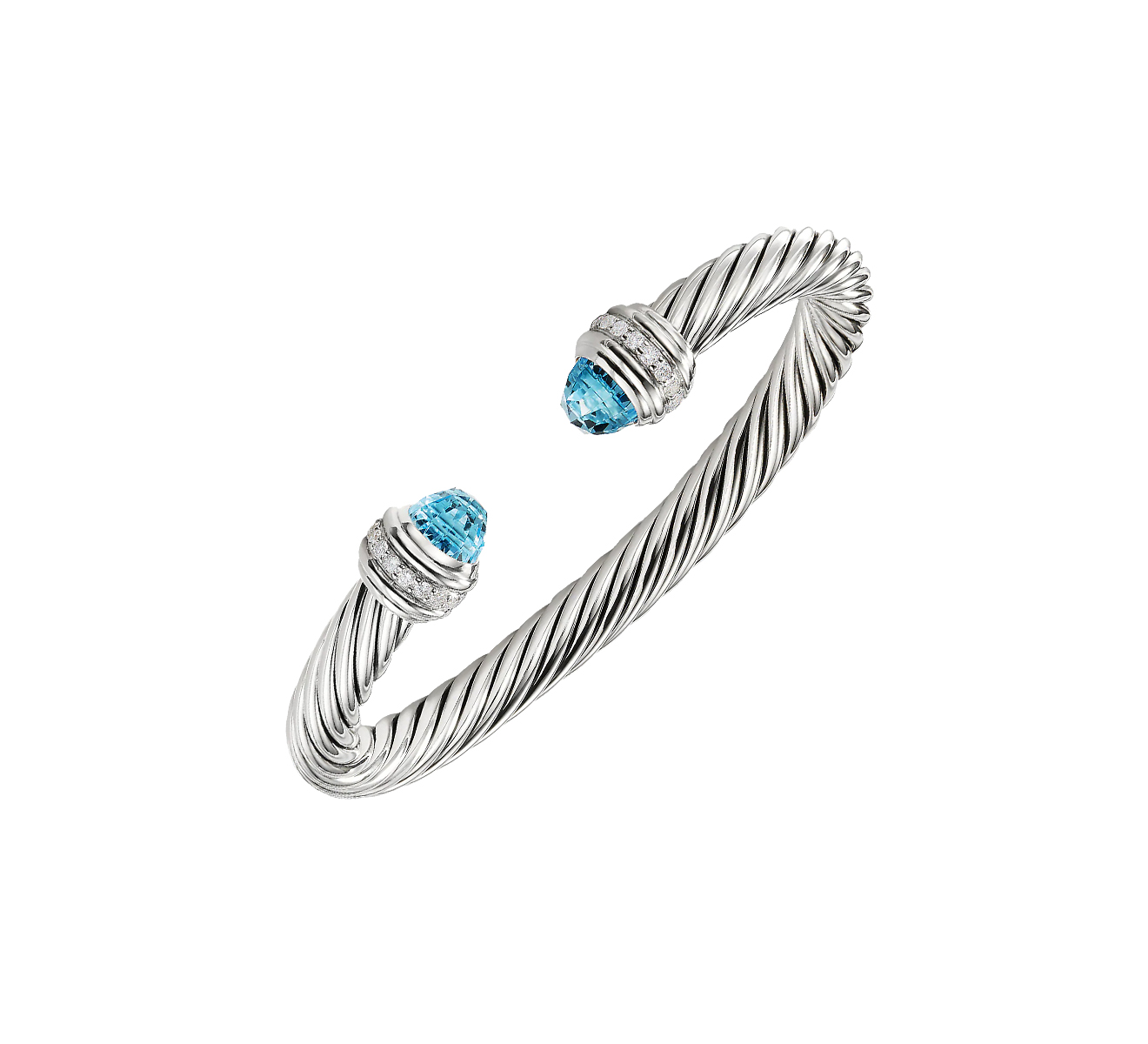 Браслет DAVID YURMAN Cable B14391DSSABTDI - фото 1 – Mercury