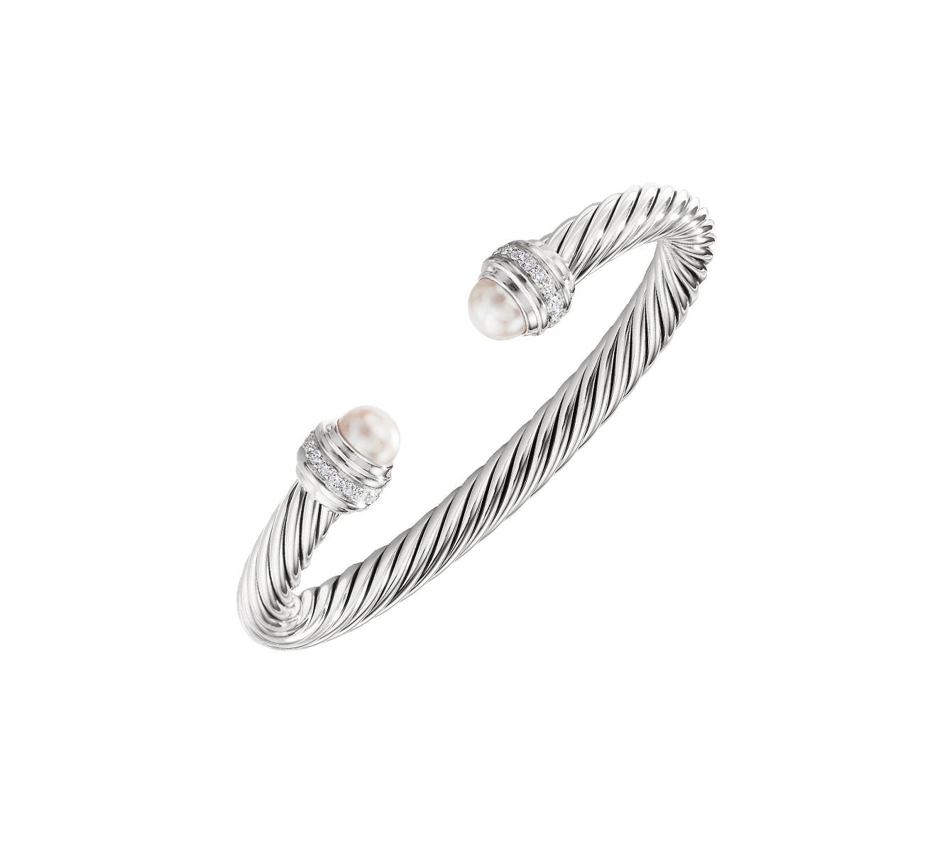 Браслет DAVID YURMAN Cable B14391DSSDPEDI - фото 1 – Mercury