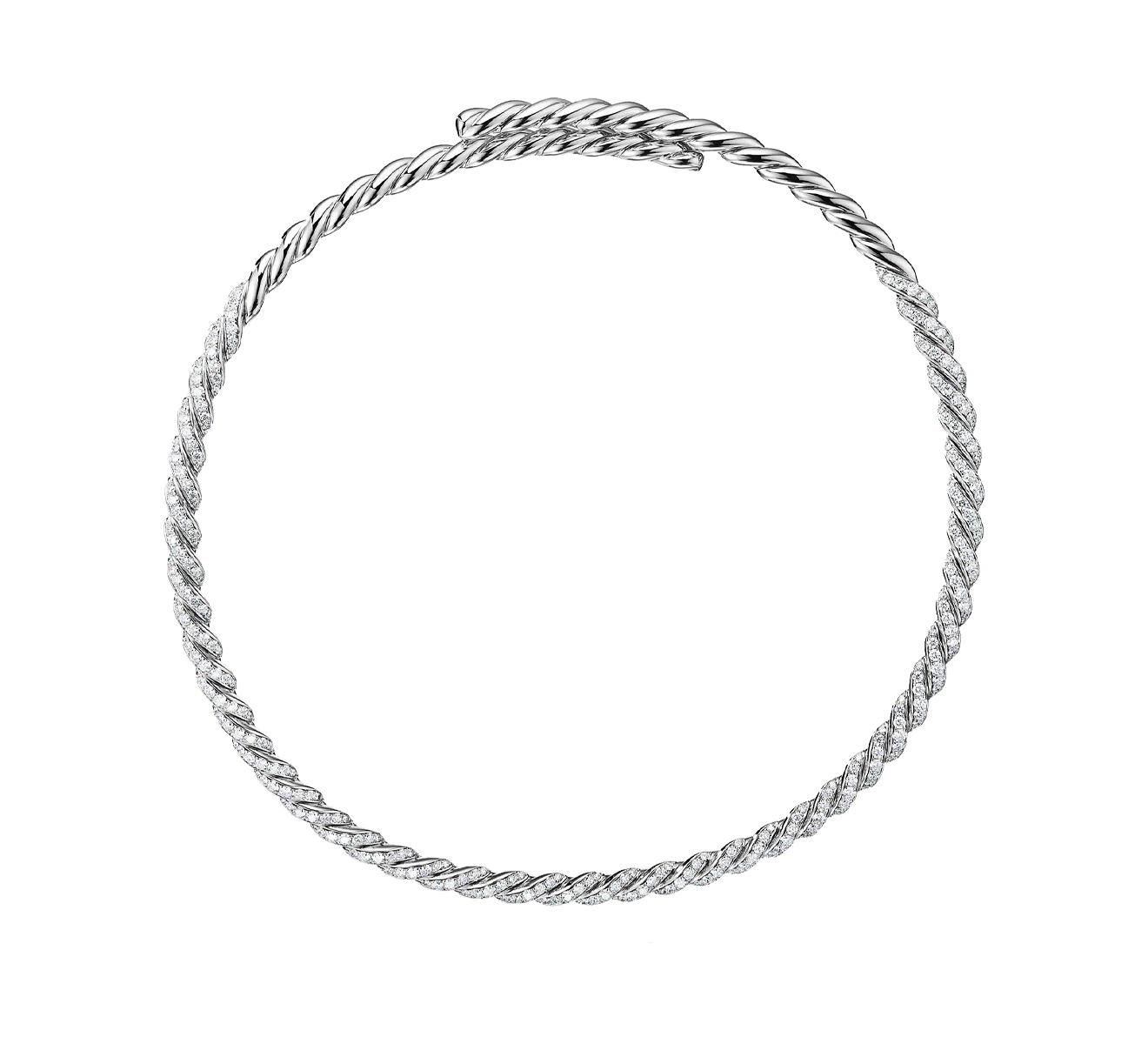 Колье DAVID YURMAN Pave Flex N14271D8WADI - фото 1 – Mercury
