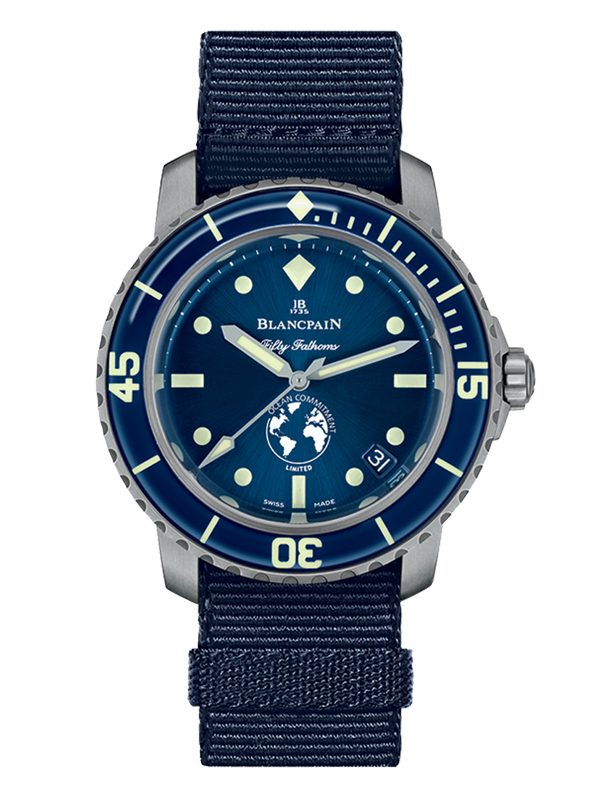 Часы Fifty Fathoms Ocean Commitment III