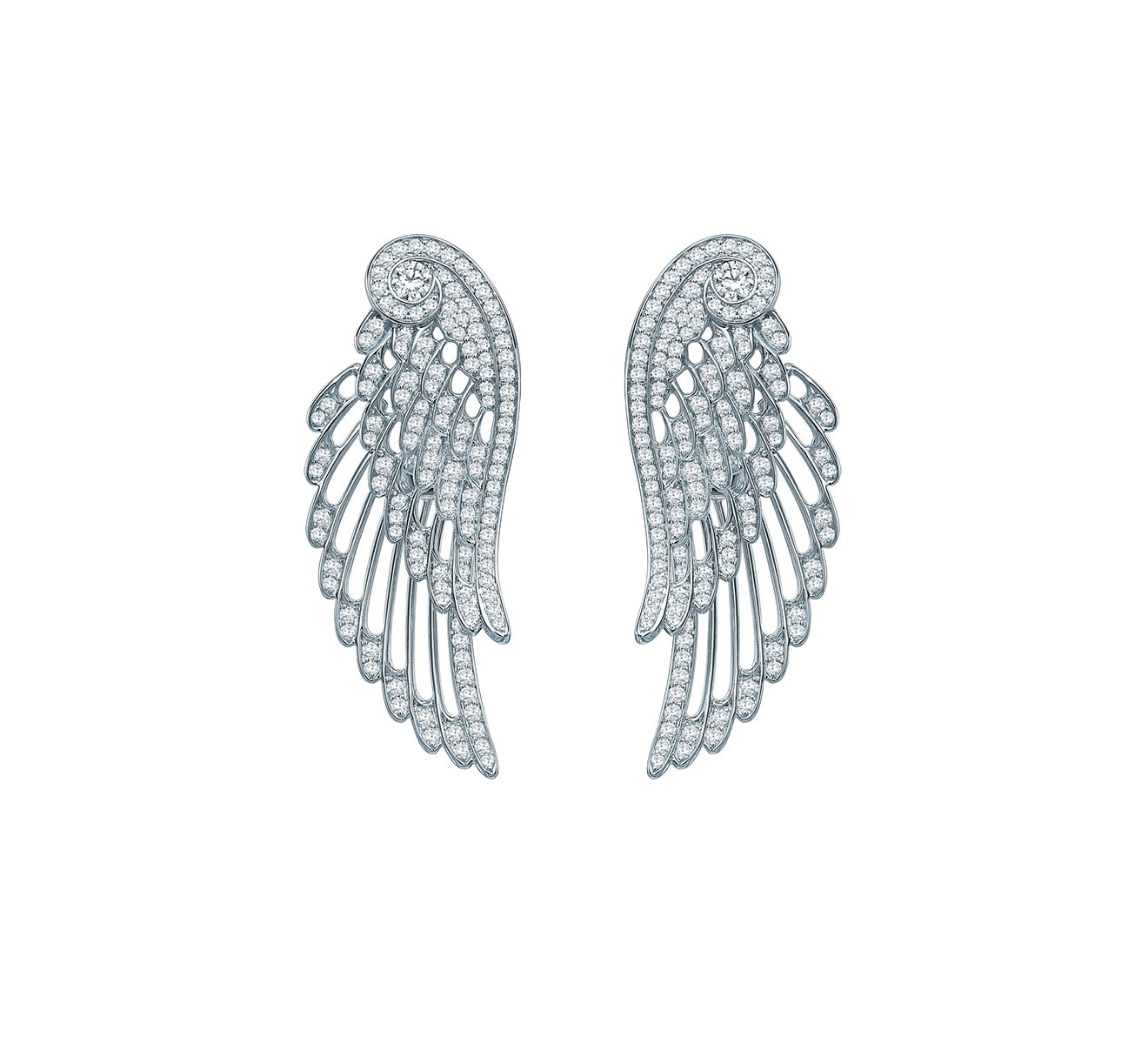 Серьги GARRARD Wings Embrace 2015750 - фото 1 – Mercury