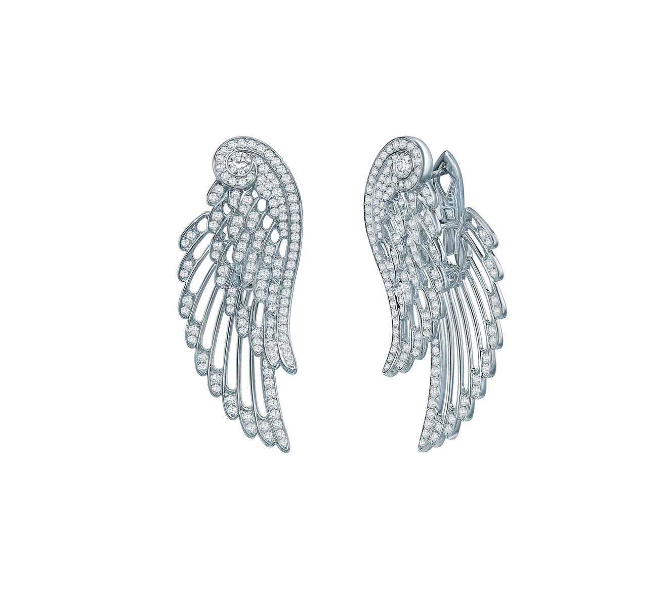 Серьги GARRARD Wings Embrace 2015750 - фото 2 – Mercury