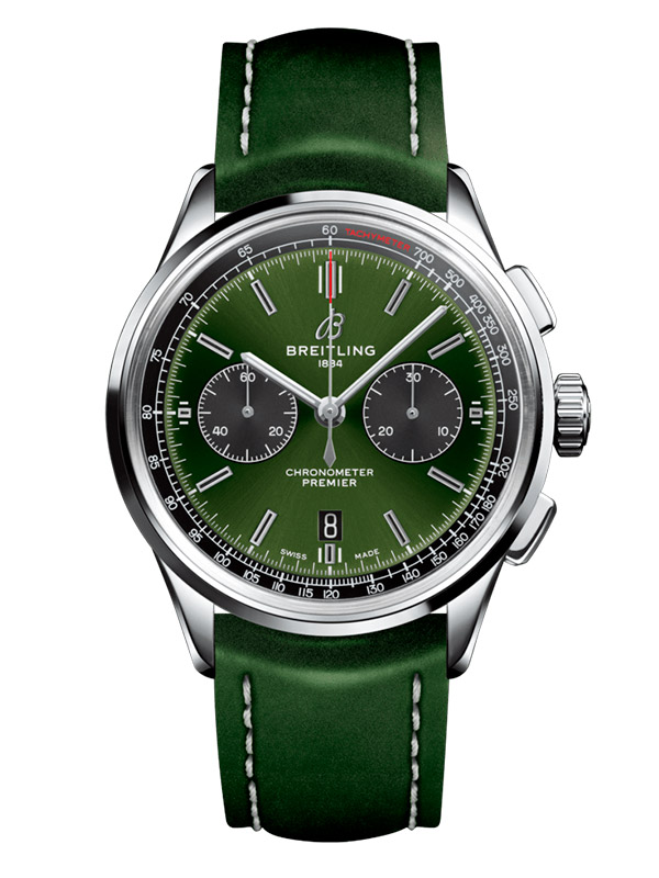 Часы Premier B01 Chronograph 42 Bentley