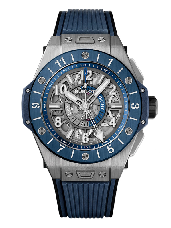 Часы Unico GMT Titanium Blue Ceramic